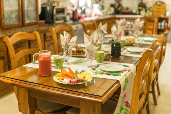 Table d'hôtes Réunion