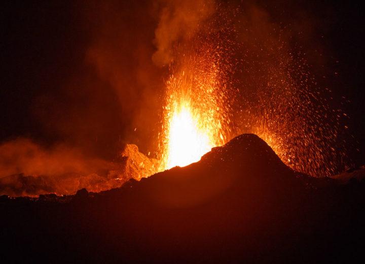 Le Piton de La Fournaise l'un des volcans les plus actif au monde